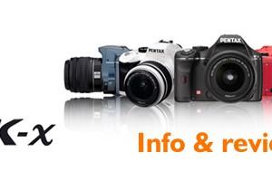 Pentax K-x review & info